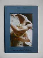 """GRUNWALSKY FERENC FOTÓKIÁLLÍTÁSA """"TEST-TÉR"""" 1999  KÖNYV KIVÁLÓ ÁLLAPOTBAN"""