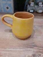 #57, kerámia vintage kupa, 10cm magas