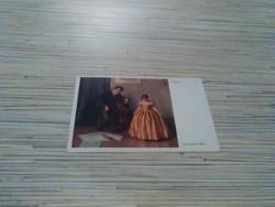 Antik képeslap(Wiener Kunst).