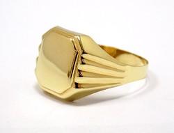 Arany pecsétgyűrű (ZAL-Au93315)