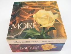 Vintage Moire parfümös testpúder bontatlan csomagban