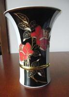 Hollóházi rózsás váza! új állapot