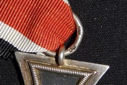 Német 2. VH Vaskereszt Iron Cross / Eisernes Kreuz EK 2 Eisernes Kreuz 24 + kiegészítő jelöléssel