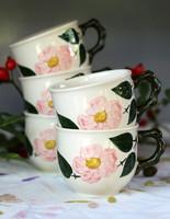 Villeroy & Boch Wildrose fajansz teás csésze