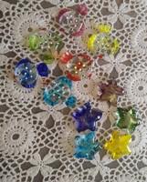 Üveg késbak hal tengeri csillag alakú