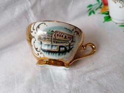 Cseh kávéscsésze szuvenír (Velence)