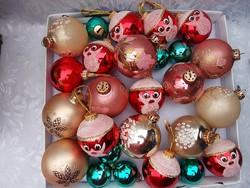 Karácsonyfa díszek 26 db