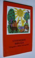 GYERMEKEK BIBLIÁJA JACOB ECKER 1983 KÖNYV JÓ ÁLLAPOTBAN