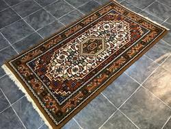 Indo BIDJAR - Indiai kézi csomózású gyapjú PERZSA szőnyeg, 93 x 175 cm