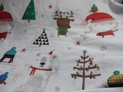 Karácsonyi mintás ágynemű