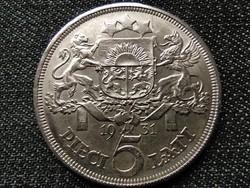 Lettország .835 ezüst 5 lat 1931 (id39909)