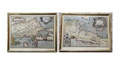 ABRAHAMI ORTELII térkép pár