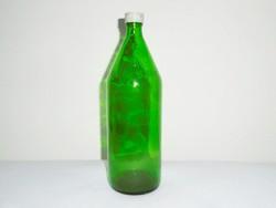 Üveg palack VEGYSZER felirattal - 1 liter - 1970-es évekből
