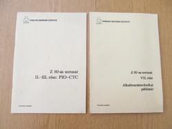 Z 80-as sorozat II.-III. rész: PIO-CTC / VII. rész: Alkalmazástechnikai példatár