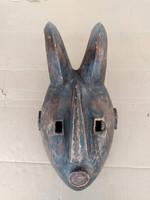 Afrikai antik maszk Ogoni népcsoport Nigéria  zk14