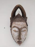 Antik afrika afrikai maszk Ogoni népcsoport african mask Nigéria zk8