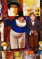 Aba-Novák Vilmos (1894 - 1941) - Cirkuszi kikiáltó