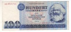 100 márka 1975 NDK Németország
