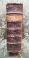 Antik könyv , latin magyar szótár 1782