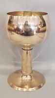 Ezüst nagyméretű pohár, kupa, kehely
