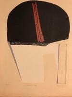 "Anna Mark (BUDAPEST, 1928 – ) ""Szita"" Ady mappából kiadva 1977 Párizs 39/100db."