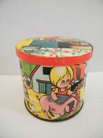Vintage angol Blue Bird Harry Vincent cukorkás doboz