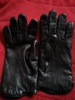 bőr kesztyű   fekete színnel