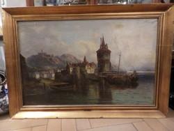Karl Kaufmann / L. van Hove (1843-1905) festmény