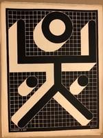 """BAK IMRE (BUDAPEST, 1939 – ) """"Szita"""" Ady mappából kiadva 1977 Párizs CV/39db."""