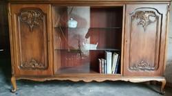Chippendél barok sligman nagy könyvesszekrény