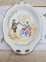 Gyönyörű porcelán,romantikus jelenetes kínáló eladó!