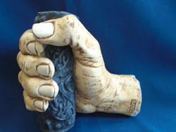 Brutálisan komoly csont vagy csont hatású művészi alkotás 1340 gramm