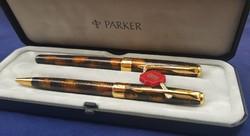 Parker Sonnet töltőtoll - 18 k. arany - golyóstoll