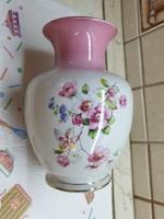 Gyönyörű Hollóházi kézzel festett porcelán váza eladó!