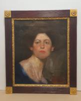 Karlovszky Bertalan- Női portré