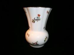 Nagyon ritka virágos festésű, antik Kispest kerámia váza