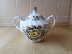 Beacon Hill Staffordshire angol porcelán cukortartó
