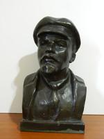 Retro eredeti Lenin orosz mellszobor