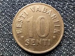Észtország 10 sent 1992 (id38890)