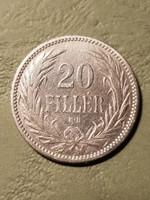 20 fillér 1893 kb