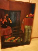 Art - deco festmény 1927 !!!!!!!