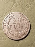 20 fillér 1894 kb