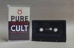 The Cult - Pure Cult: for Rockers, Ravers, Lovers and Sinners - magnókazetta