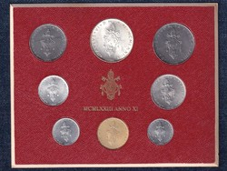 Vatikán VI. Pál forgalmi sor MCMLXXIII Anno XI 1973 (id40605)