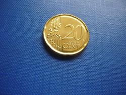 MÁLTA 20 EURO CENT 2008! RITKA!