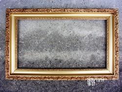 Antik képkeret 37x66.5 cm-es falcmérettel