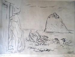 Borsos Miklós: Tengeri fürdő