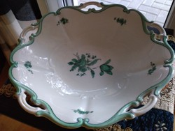 Haas&Czjzek antik asztalközép augarten mintával
