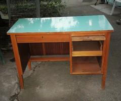 Régebbi retro íróasztal, ritka írógép asztal 98*46*M70 cm