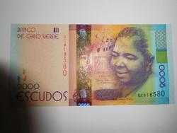 Zöld foki szigetek 2000 escudos 2014 UNC